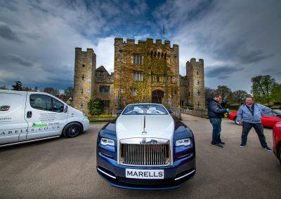 Hever Castle | Rolls Royce Dawn | Ferrari 812 Superfast ! Event Photography