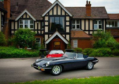 E-type detailing | Ferrari detailing & valeting | Vehicle detailing